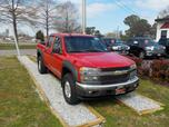 2004 CHEVROLET COLORADO Z-71 LS CREW CAB 4X4, WARRANTY, TOW PKG, BED LINER, CD PLAYER, FOG LAMPS, BACKUP CAM, CD PLAYER,A/C!