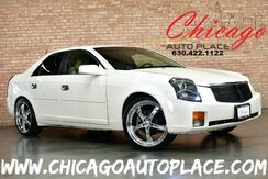 2004_Cadillac_CTS_3.6L V6 VVT ENGINE REAR WHEEL DRIVE TAN LEATHER DUAL ZONE CLIMATE TSW WHEELS PERFORMANCE INTAKE_ Bensenville IL