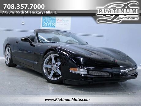2004 Chevrolet Corvette Convertible Triple Black Auto Heads Up Exhaust Hickory Hills IL