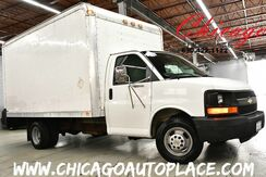 2004_Chevrolet_Express Commercial Cutaway_C7L - 6.0L V8 ENGINE REAR WHEEL DRIVE BOX TRUCK WORK READY CLEAN CARFAX LOCAL TRADE AM/FM STEREO CLIMATE CONTROL_ Bensenville IL