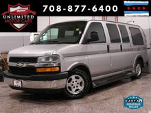 2004_Chevrolet_Express Passenger_Chariot Conversion Rear TV Sony Radio_ Bridgeview IL