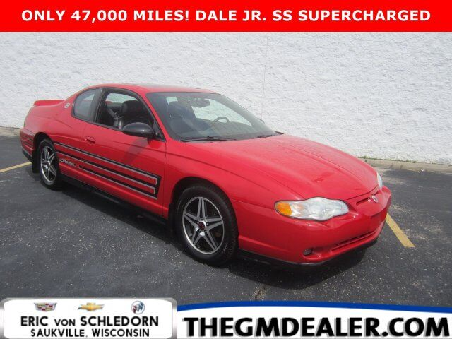 2004 Chevrolet Monte Carlo SS Supercharged 1SC DaleEarnhardtJrEdition w/Sunroof HtdLeather Milwaukee WI