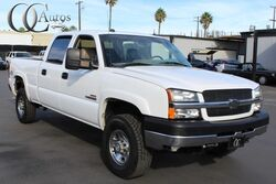 Chevrolet SILVERADO 2500HD 6.6L DURAMAX TURBO DIESEL 4X4 CREW CAB SHORT BED LT 2004