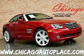 2004 Chrysler Crossfire Coupe - 3.2L V6 ENGINE 6-SPEED MANUAL TRANSMISSION REAR WHEEL DRIVE BLACK LEATHER SPORT SEATS HEATED SEATS PREMIUM ALLOY WHEELS