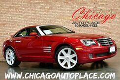 2004_Chrysler_Crossfire_Coupe - CLEAN CARFAX 3.2L V6 ENGINE 6 SPEED MANUAL TRANSMISSION BLACK LEATHER HEATED SEATS PREMIUM WHEELS_ Bensenville IL