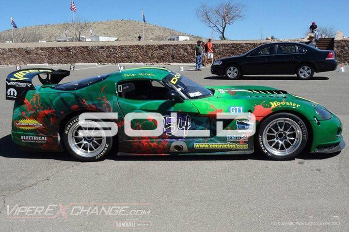 2004 Dodge Viper World Challenge Comp Coupe  Tomball TX