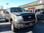2004 FORD F-150 FX4 OFF ROAD SUPER CAB 4X4, WARRANTY, BED LINER, TOW PKG, CRUISE CONTROL, STEERING WHEEL CONTROLS!!!