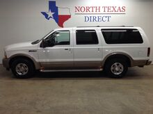 2004_Ford_Excursion_Eddie Bauer Diesel 3/4 Ton Leather Tv Dvd 8 Passenger_ Mansfield TX