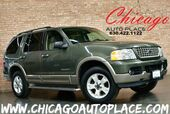 2004 Ford Explorer Eddie Bauer - 4.6L V8 ENGINE ALL WHEEL DRIVE TAN LEATHER HEATED SEATS WOOD GRAIN INTERIOR TRIM 3RD ROW SEATS PREMIUM ALLOY WHEELS