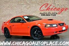 2004_Ford_Mustang_GT Premium - 40TH ANNIVERSARY EDITION 4.6L 260HP SMPI V8 ENGINE REAR WHEEL DRIVE 5 SPEED MANUAL TRANSMISSION BLACK LEATHER INTERIOR PREMIUM BLACK WHEELS MACH AUDIO_ Bensenville IL