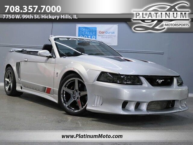 2004 Ford Mustang Saleen Conv #298 1of 1 Cobra Motor 6 Speed Big Money Invested Loaded Hickory Hills IL