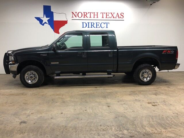 2004 Ford Super Duty F-250 FX-4 4x4 XLT Crew 6.0 Diesel Short Bed Powerstroke Mansfield TX