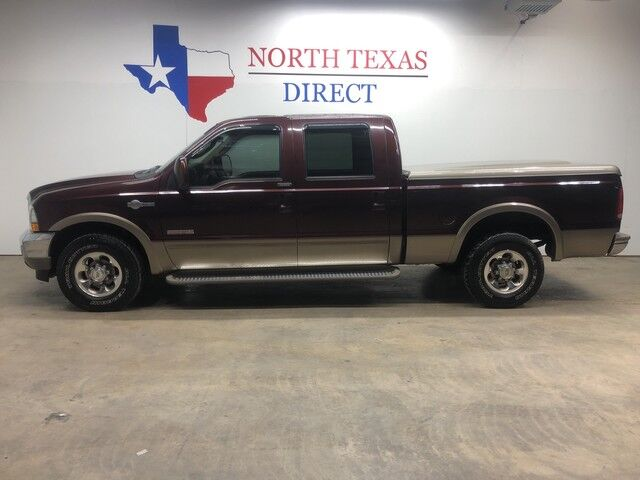 2004 Ford Super Duty F-250 King Ranch 6.0 PowerStroke Diesel Crew Cab Heated Leather Mansfield TX