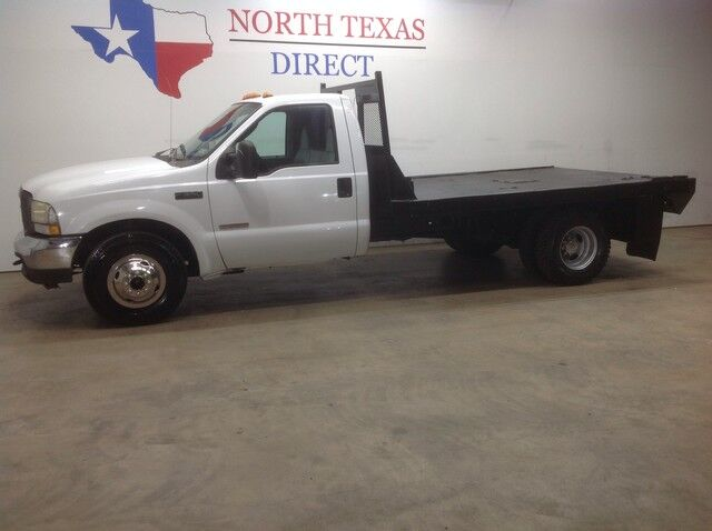 2004 Ford Super Duty F-350 DRW FREE HOME DELIVERY! XL Diesel Dually Flatbed Single Cab Mansfield TX
