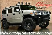 2004 HUMMER H2 4 WHEEL DRIVE 6.0L VORTEC V8 SFI ENGINE GRAY LEATHER FRONT + REAR HEATED SEATS SUNROOF BOSE AUDIO