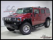 2004_HUMMER_H2_4WD Navigation Heated Leather Sunroof_ Villa Park IL