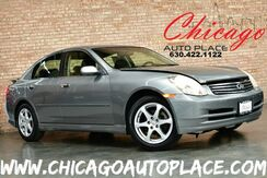 2004_INFINITI_G35X Sedan_AWD - 3.5L V6 ENGINE ALL WHEEL DRIVE BLACK LEATHER HEATED SEATS SUNROOF BOSE AUDIO_ Bensenville IL