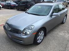 2004_Infiniti_G35_Sedan with Leather and 6MT_ Austin TX