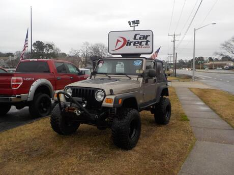 2004 JEEP WRANGLER 4X4 MANUAL, BUY BACK GUARANTEE AND WARRANTY,  JBL SOUND SYSTEM, VERY LOW MILES ONLY 60K MILES! Virginia Beach VA