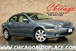 2004_Jaguar_X-TYPE_3.0L SMPI V6 ENGINE ALL WHEEL DRIVE 1 OWNER BEIGE LEATHER HEATED SEATS WOOD GRAIN INTERIOR TRIM SUNROOF_ Bensenville IL