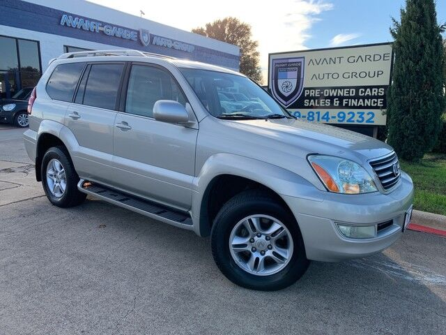 2004 Lexus GX470 NAVIGATION REAR VIEW CAMERA, MARK LEVINSON STEREO, REAR ENTERTAINMENT SYSTEM, HEATED LEATHER SEATS, SUNROOF, 3RD ROW!!! LOADED!!!! VERY CLEAN!!! Plano TX