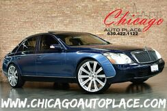 2004_Maybach_57_SWB 5.5L V12 ENGINE REAR WHEEL DRIVE REAR TV'S REAR POWER CURTAINS NAVIGATION BACKUP CAMERA BOSE AUDIO HEATED/COOLED SEATS_ Bensenville IL