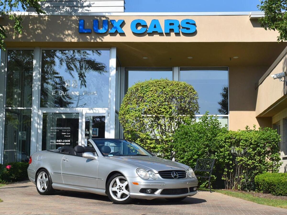 2004_Mercedes-Benz_CLK500_Cabriolet_ Buffalo Grove IL