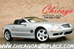 2004_Mercedes-Benz_SL500_CONVERTIBLE/HARDTOP ROADSTER - 5.0L V8 ENGINE REAR WHEEL DRIVE BOSE AUDIO WOOD GRAIN TRIM_ Bensenville IL