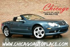 2004_Mercedes-Benz_SL500_ROADSTER - HARDTOP/CONVERTIBLE BEIGE LEATHER HEATED/COOLED SEATS WOOD GRAIN INTERIOR TRIM PARKING SENSORS XENONS DYNAMIC SEATS_ Bensenville IL