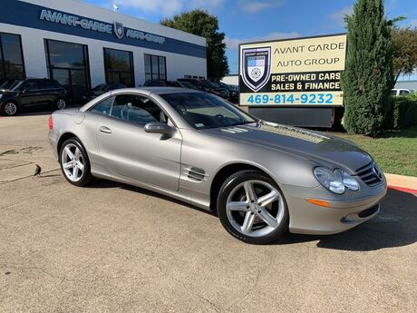 2004 Mercedes-Benz SL500 ROADSTER NAVIGATION HEATED LEATHER, BI-XENON HEADLAMPS, PREMIUM SOUND!!! EXTRA CLEAN!!! ONE LOCAL OWNER!!! Plano TX