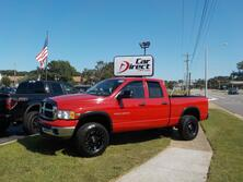 RAM 2500 SLT 4X4, CERTIFIED W/WARRANTY, CUSTOM RIMS, BED LINER, TOW PGK, MUTLI CD PLAYER, ONLY 71K MILES!! 2004