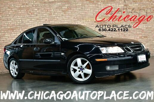 2004 Saab 9-3 Linear - 2.0L TURBOCHARGED 4-CYL ENGINE FRONT WHEEL DRIVE GRAY LEATHER SUNROOF HEATED SEATS PREMIUM WHEELS Bensenville IL