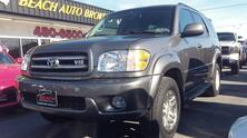 TOYOTA SEQUOIA LIMITED 4X4, CARFAX CERTIFIED, 3RD ROW SEATING, DVD, SUNROOF, LEATHER, TOW PKG, ONLY 47K MILES! 2004