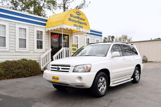 2004_Toyota_Highlander_Limited_ Wilmington NC