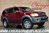 2004 Toyota Sequoia SR5 - 1 OWNER 4.7L i-Force V8 ENGINE 4 WHEEL DRIVE TAN LEATHER SUNROOF 3RD ROW SEATING
