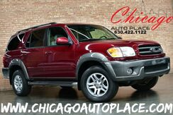 2004_Toyota_Sequoia_SR5 - 1 OWNER 4.7L i-Force V8 ENGINE 4 WHEEL DRIVE TAN LEATHER SUNROOF 3RD ROW SEATING_ Bensenville IL