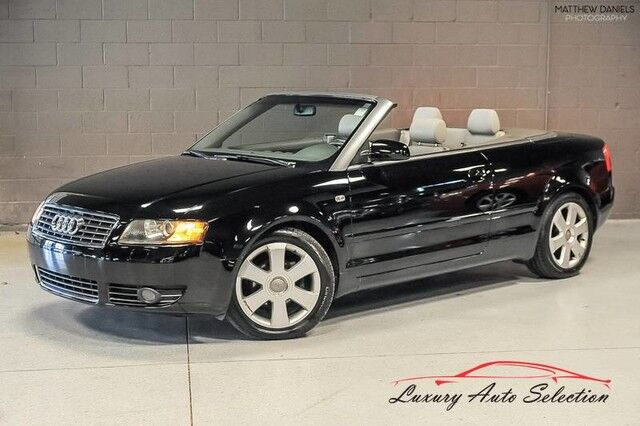 2005_Audi_A4 1.8T_2dr Convertible_ Chicago IL