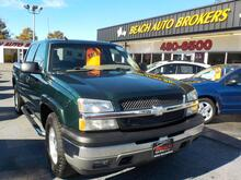 2005_CHEVROLET_SILVERADO_1500 Z71 CREWCAB 4X4, BUYBACK GUARANTEE, WARRANTY, , RUNNING BOARDS, HEATED SEATS, LEATHER, ONSTAR!!_ Norfolk VA