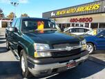 2005 CHEVROLET SILVERADO 1500 Z71 CREWCAB 4X4, BUYBACK GUARANTEE, WARRANTY, , RUNNING BOARDS, HEATED SEATS, LEATHER, ONSTAR!!