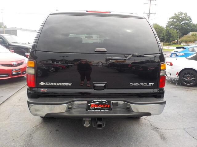2005 CHEVROLET SUBURBAN LT 4X4, BUYBACK GUARANTEE,WARRANTY, 3RD ROW, HEATED SEATS, RUNNING BOARDS, TOW PKG, ONLY 1 OWNER!!! Norfolk VA