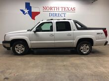2005_Chevrolet_Avalanche_4x4 Z-71 LT3 Heated Leather Sunroof Tv Dvd_ Mansfield TX