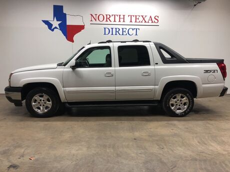 2005 Chevrolet Avalanche 4x4 Z-71 LT3 Heated Leather Sunroof Tv Dvd Mansfield TX
