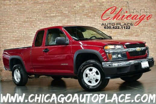 2005 Chevrolet Colorado LS - 3.5L 5-CYL ENGINE 4 WHEEL DRIVE EXTENDED CAB CLEAN CARFAX BLACK BEDLINER W/ COVER PREMIUM ALLOYS Bensenville IL