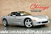 2005 Chevrolet Corvette COUPE - 6.0L LS2 V8 ENGINE 1 OWNER REAR WHEEL DRIVE BLACK LEATHER SPORT SEATS KEYLESS GO