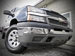 2005 Chevrolet Silverado 1500 Work Truck 4X4 4dr LB Reg Cab STICK SHIFT