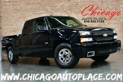 2005_Chevrolet_Silverado SS_EXT CAB - 6.0L VORTEC HIGH-OUTPUT V8 ENGINE ALL WHEEL DRIVE BLACK LEATHER SS SEATS DUAL ZONE CLIMATE_ Bensenville IL