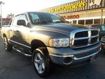 2005 DODGE RAM 1500 SLT 4X4, BUYBACK GUARANTEE, WARRANTY, BED LINER, TOW PACKAGE, SINGLE CD PLAYER, A/C, NICE!