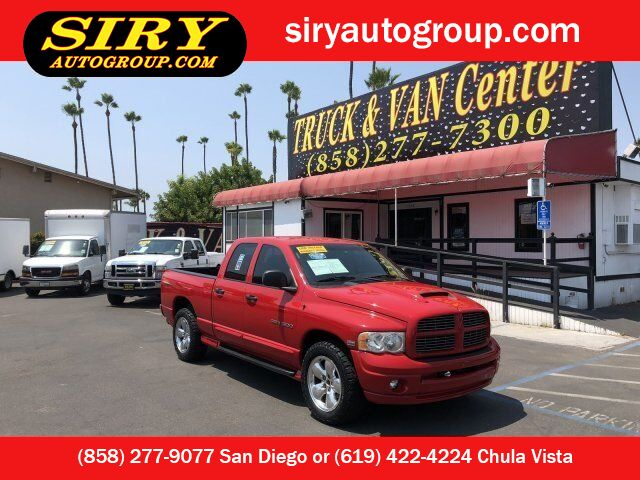 Dodge San Diego >> 2005 Dodge Ram 1500 Slt