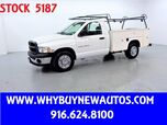 2005 Dodge Ram 2500 ~ Utility ~ Liftgate ~ Only 47K Miles!