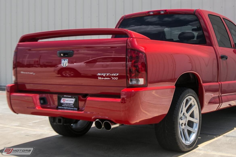 2005 Dodge Ram SRT-10 Hennessey Venom 700 Tomball TX